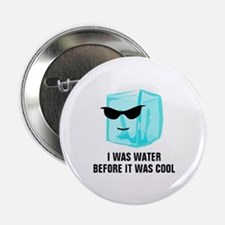"""Ice Cube I Was Water Before It Was Co 2.25"""" Button"""