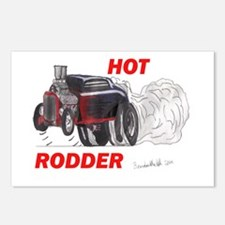 Brandon Martell Hot Rod Postcards (Package of 8)