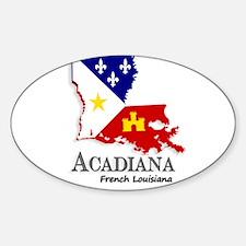 Acadiana LA Decal