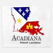 Acadiana LA King Duvet