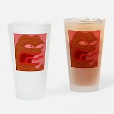 raging pepe Drinking Glass