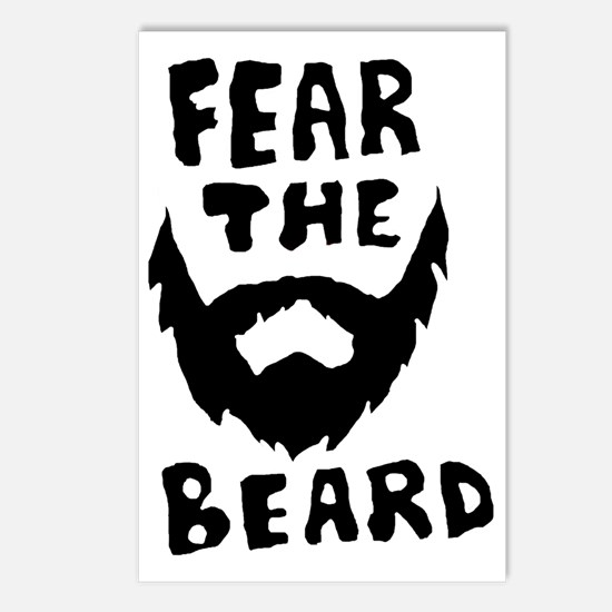Fear the beard  Postcards (Package of 8)