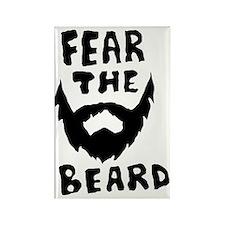 Fear the beard  Rectangle Magnet