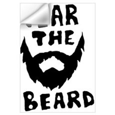 Fear the beard  Wall Decal