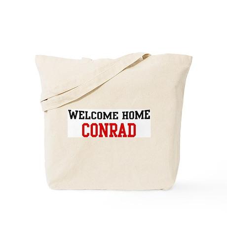 Welcome home CONRAD Tote Bag