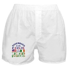 USA / Irish Parts Boxer Shorts