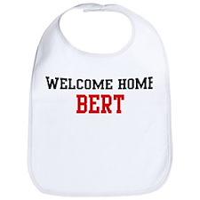 Welcome home BERT Bib