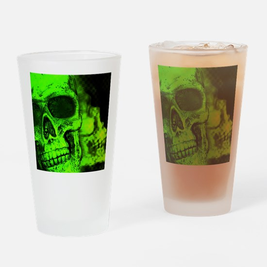 Cute Skull Drinking Glass