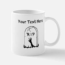 Zombie Gravestone Mugs