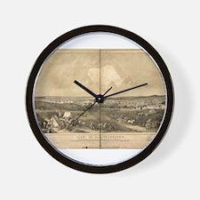 San Francisco, CA 1851 Wall Clock
