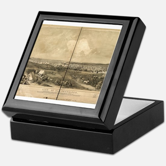 San Francisco, CA 1851 Keepsake Box