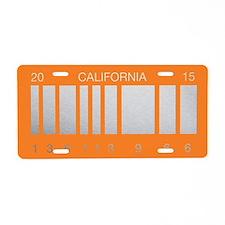Replica Back To The Future Aluminum License Plate