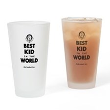 The Best in the World – Kid Drinking Glass