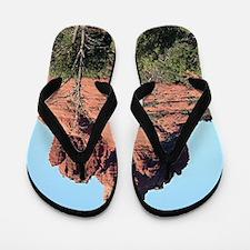 Bell Rock, Sedona, Arizona, USA Flip Flops