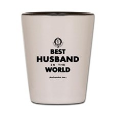 The Best in the World – Husband Shot Glass