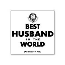 The Best in the World – Husband Sticker