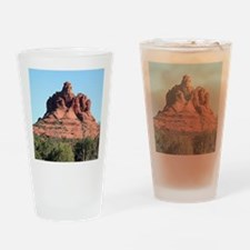 Bell Rock, Sedona, Arizona, USA Drinking Glass