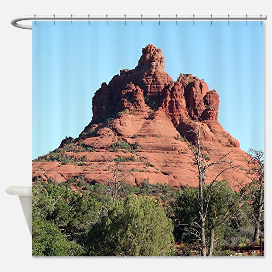 Bell Rock, Sedona, Arizona, USA Shower Curtain