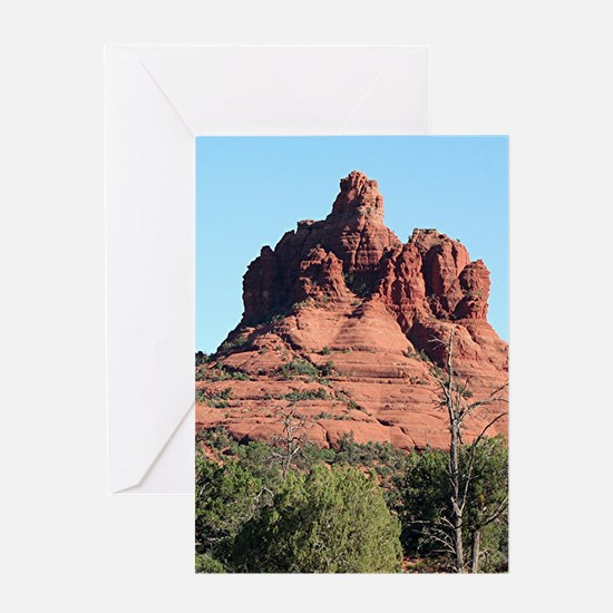 Bell Rock, Sedona, Arizona, USA Greeting Cards