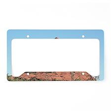 Bell Rock, Sedona, Arizona, U License Plate Holder
