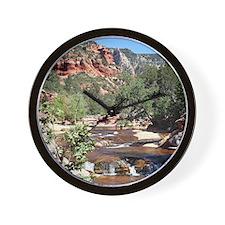 Slide Rock State Park, Arizona, USA Wall Clock
