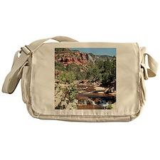 Slide Rock State Park, Arizona, USA Messenger Bag