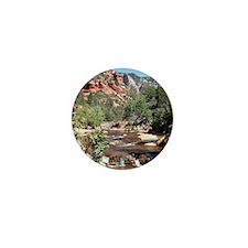 Slide Rock State Park, Arizona, USA Mini Button