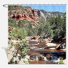 Slide Rock State Park, Arizona, USA Shower Curtain