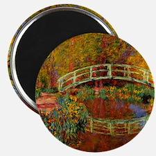 Monet - The Japanese Bridge Magnet
