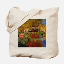 Monet - The Japanese Bridge Tote Bag