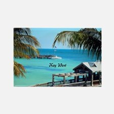 Key West, Florida - Paradise Rectangle Magnet