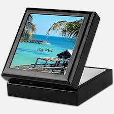 Key West, Florida - Paradise Keepsake Box