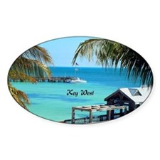 Key West, Florida - Paradise Decal