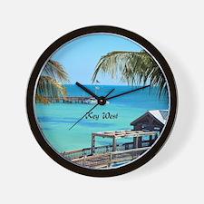 Key West, Florida - Paradise Wall Clock