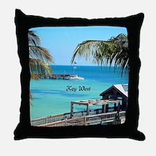 Key West, Florida - Paradise Throw Pillow