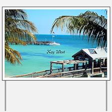 Key West, Florida - Paradise Yard Sign