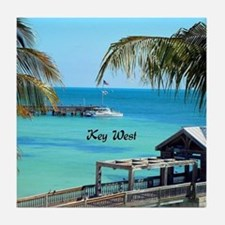 Key West, Florida - Paradise Tile Coaster