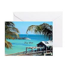 Key West, Florida - Paradise Greeting Card