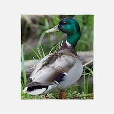 Mallard Duck Throw Blanket