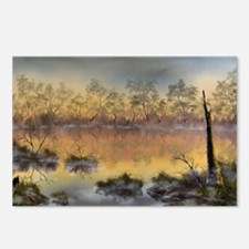 Misty Morn Postcards (package Of 8)