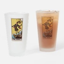 """The Fool"" Drinking Glass"