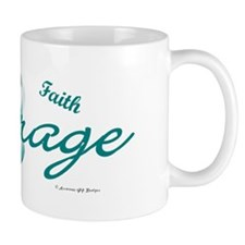 Courage, Hope, Strength, Faith 2 (OC) Mug