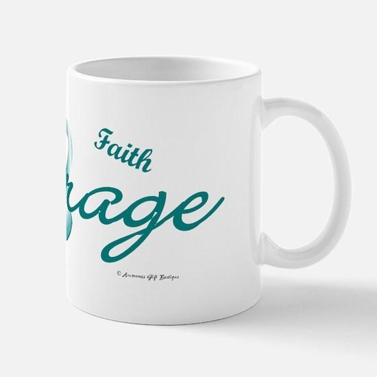 Courage, Hope, Strength, Faith 2 (OC) Mug