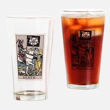 """Death"" Drinking Glass"