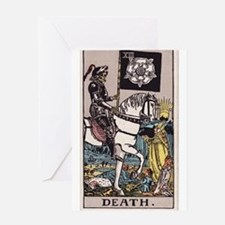 """""""Death"""" Greeting Card"""