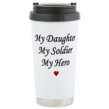 Funny Army daughter Travel Mug