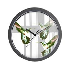 Unique Colibri Wall Clock