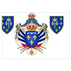 Extravagant Coat of Arms Canvas Art