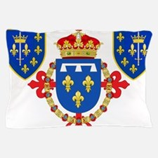 Red Crown Coat of Arms Pillow Case