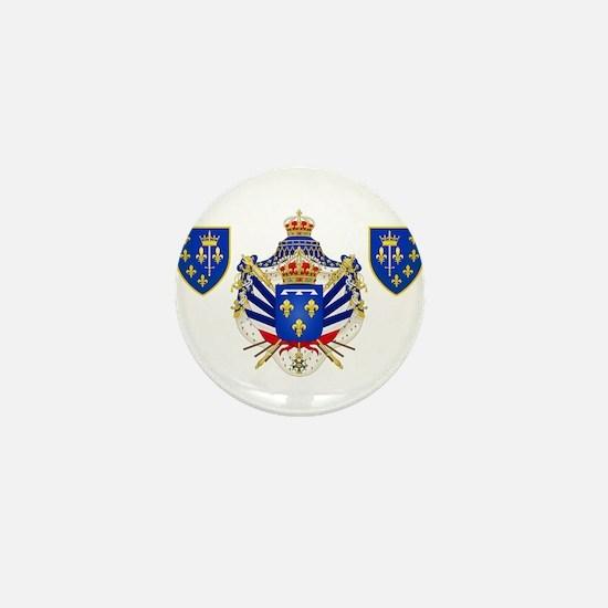 Extravagant Coat of Arms Mini Button